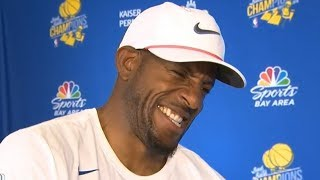 Andre Iguodala - Interview / Warriors Championship Parade / June 12, 2018