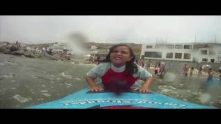 preview picture of video 'OPEN DAY - San Bartolo Surf School'