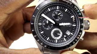 Fossil Decker Chronograph Analog Black Dial Mens Watch - CH2600IE     Unboxing