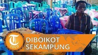 Beda Pilihan Kades, Satu Kampung Tak Datang Hajatan Seorang Warga yang Anaknya Hendak Menikah