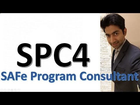 SAFe SPC4 - Get certified - YouTube