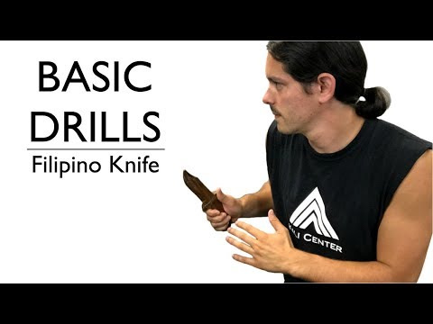 Knife Fighting Techniques for Beginners - Filipino Martial Arts