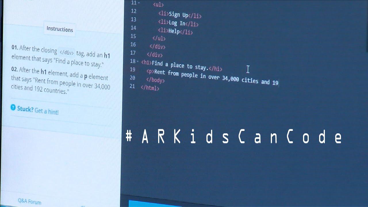#ARKidsCanCode