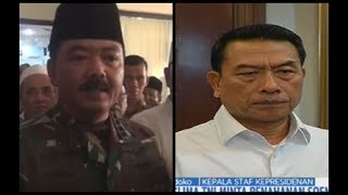 Panglima TNI Minta Penangguhan Penahanan Soenarko, Moeldoko Tak Berkomentar - SIP 21/06