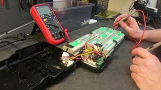 36v 9Ah Ansmann Batterypack (A re-branded OEM Portapower batttery)