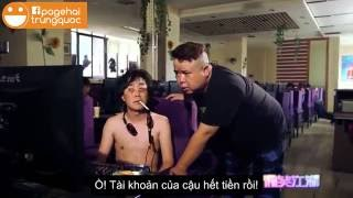 Hài Trung Quốc: Đầu khấc nghiện game