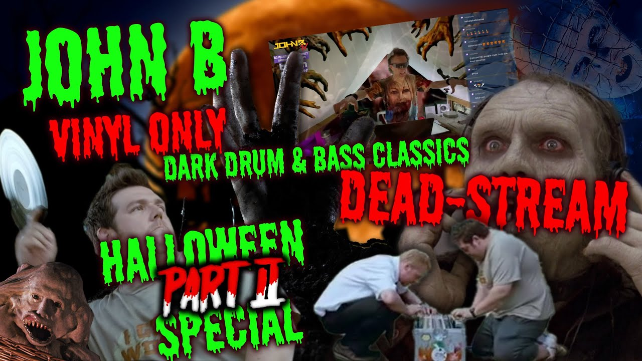 John B - Live @ LiveSCREAM x Horror Themed Halloween Special DNB DJ PARTY Part 2 2020