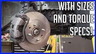 Brake Pads Replacement Honda Civic HYBRID