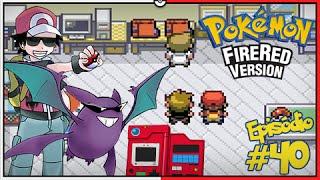Crobat  - (Pokémon) - Pokémon Fire Red Let's Play #40: Finalmente a National Pokédex e o Crobat