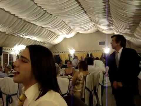 Animación en banquete de boda