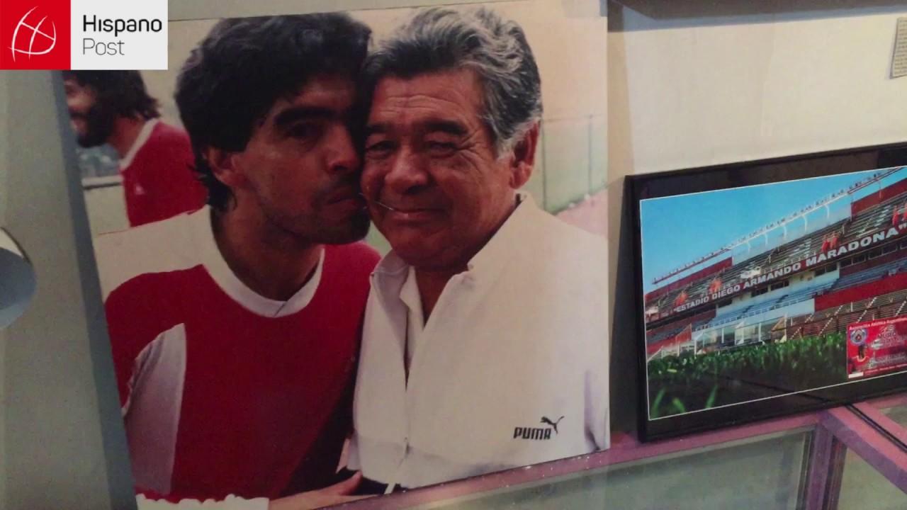 Acá vivió Maradona