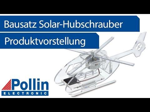 Produktvorstellung: Bausatz Solar-Hubschrauber (Pollin Artnr. 810260)