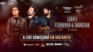 Luan Santana e Fernando & Sorocaba - Live O Início