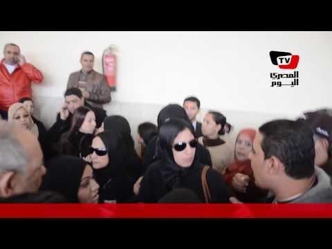 هتافات بعد تأجيل محاكمة المتهمين بقتل «زينة» لإعادة التحقيق