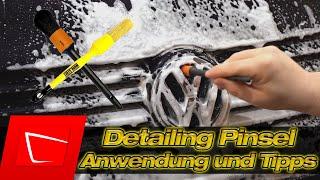 Detailing Pinsel Anwendung ADBL Workstuff ValetPRO- die sinnvolle Ergänzung im Waschset