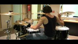 Them Crooked Vultures - Gunman (drum cover)