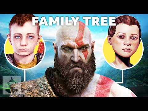 The Complete God Of War Family Tree   The Leaderboard