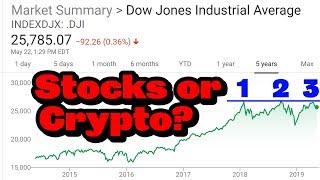 Stocks or Crypto right now??? Should I convert my 401k and stocks to a Crypto ETF?