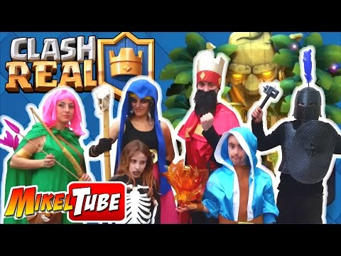 CLASH ROYALE en la VIDA REAL - Disfraces Carnaval 2017