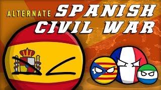 Alternate Spanish Civil War (Animated Countryballs) - Mapping Short