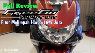Full Review Yamaha FreeGo 125,Fiturnya Melimpah Harga 18,5 Juta. #freego125 #freego