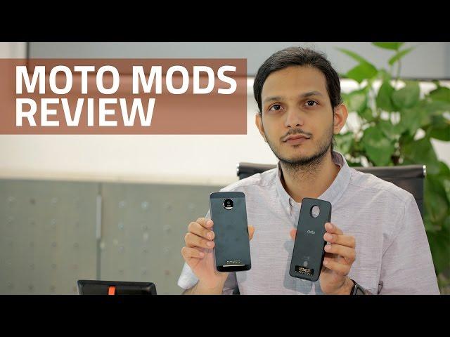 Moto Z Moto Mods Review: Hasselblad True Zoom, JBL Soundboost, and