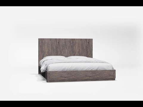 288bb97ee81 ... California King Panel Bed HD  FURNITURE OF AMERICA  Amarante (CM7624)  play button