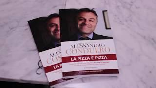 """Successo per la presentazione del libro """"La pizza è pizza"""" a Verona"""