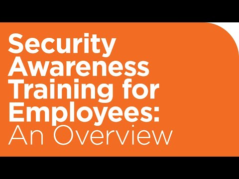 Security Awareness Training for Employees: An Overview - YouTube