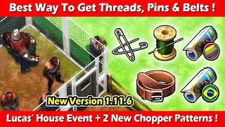 Best Way To Get Threads, Pins & Belts For Lucas