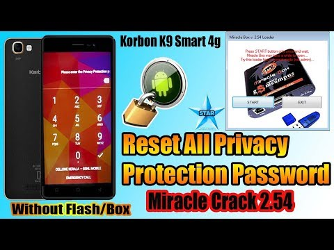 How to use Miracle Box to bypass Privacy Protection Password