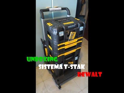 Unboxing Veloce Del Sistema T-Stak DeWalt - Fai da Te ITALIA