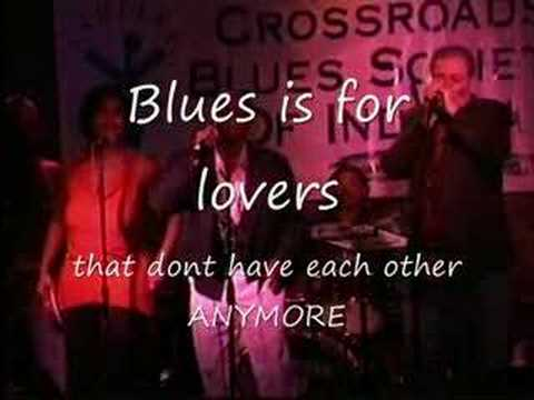 Blues is for lovers LIVE