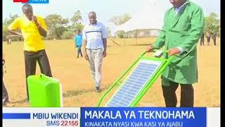 MBIU WIKENDI: Kifaa kinachotumia kawi ya jua kukata nyasi kwa kasi ya ajabu.