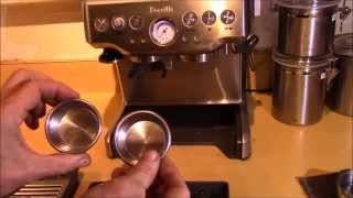 Breville BES870XL Barista Express - Filters explained