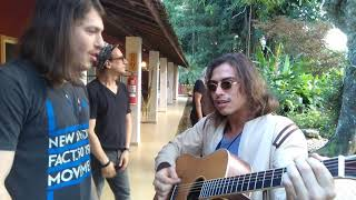 CAIO PADUAN E FRANCISCO VITTI - ESTAÇÃO ROCK FILME - Bastidores