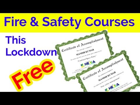 Free online Fire & Safety courses. - YouTube