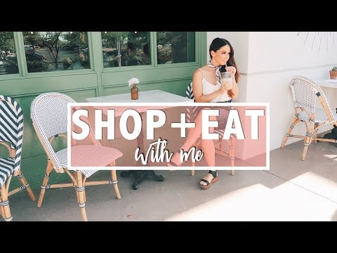 Shop and Eat with Me | Being Styled at Evereve + My Favorite Healthy Restaurants