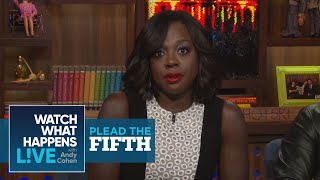 Viola Davis On Losing Oscars To Meryl Streep And Penelope Cruz | Plead the Fifth | WWHL