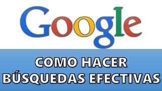Trucos para mejorar las búsquedas en Google