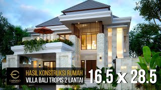Video Construction Progress of Mr. Rivan Private House - Nusa Dua, Bali