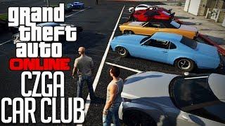 GTA 5 Online - CZGA Car Club Meet 1! Part 1