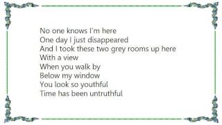 Joni Mitchell - Two Grey Rooms Lyrics