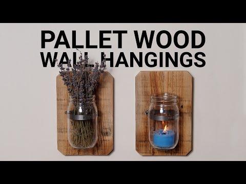 Wandhalter aus Einmachgläsern - Stylischer Stauraum