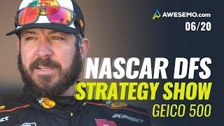 NASCAR DFS Strategy DraftKings + FanDuel: Geico 500 Awesemo.com Game Plan