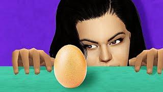 Kylie Jenner Vs. World Record Egg
