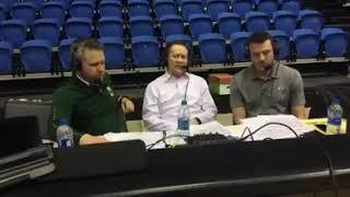 CSU Basketball (M) Post-Game: 2018-19 San Jose State (Carvacho)