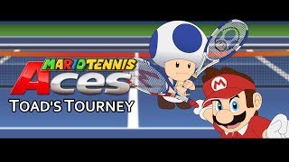 Mario Tennis Aces - Toad's Tourney