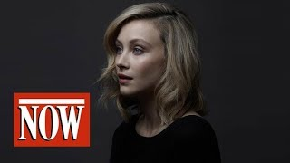 Behind the scenes: actor Sarah Gadon on the set of NOW's Alias Grace cover shoot