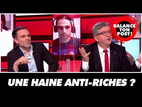 Y-a-t-il une haine anti-riches ? Jean-Luc Mélenchon répond
